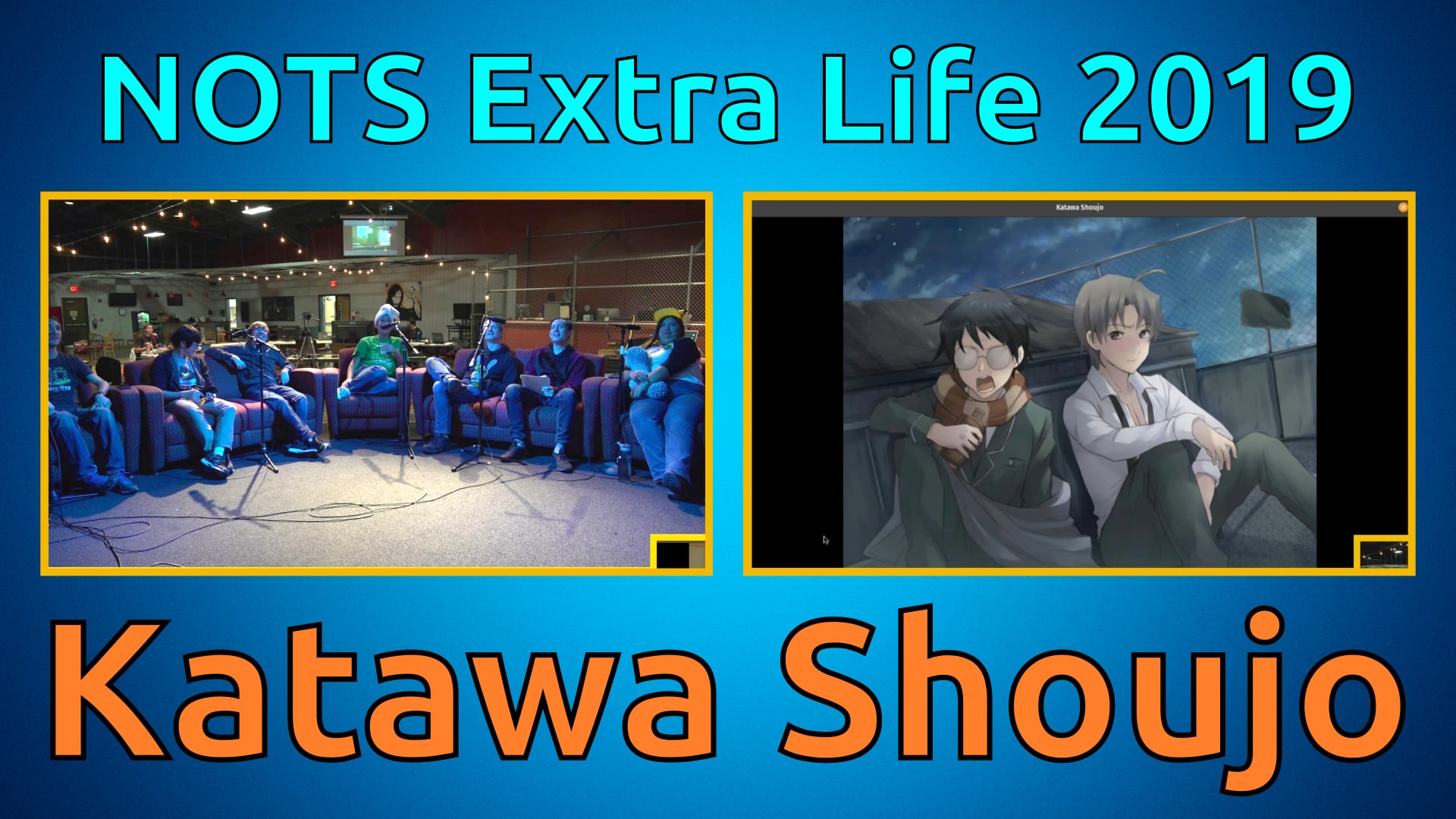 Katawa Shoujo (Kenji Ending) - Extra Life 2019