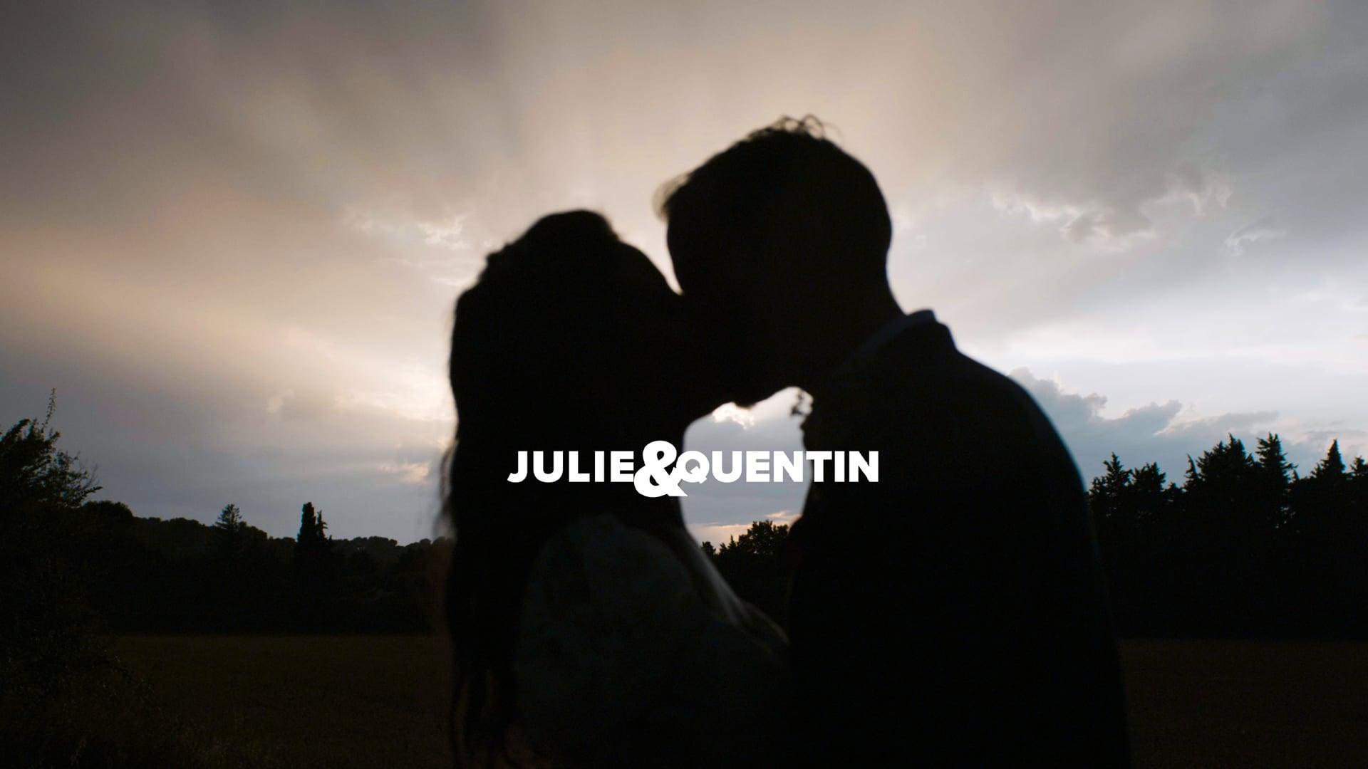 JULIE + QUENTIN