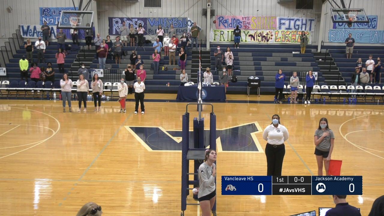 Varsity Volleyball vs Vancleave - 10-01-20
