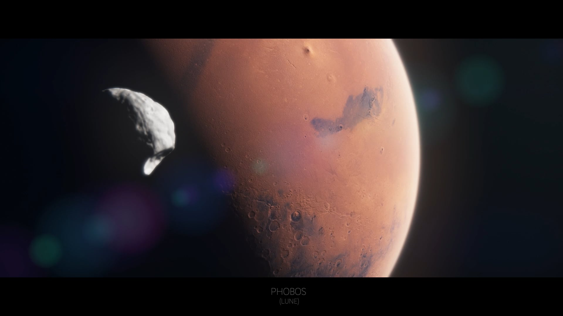CNES : FLYING OVER MARS