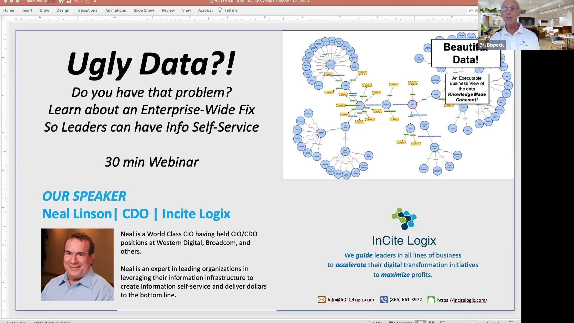Webinar - 30 min - Ugly Data?! - See An Enterprise-Wide Fix