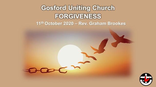 11th October 2020 - Rev. Graham Brookes