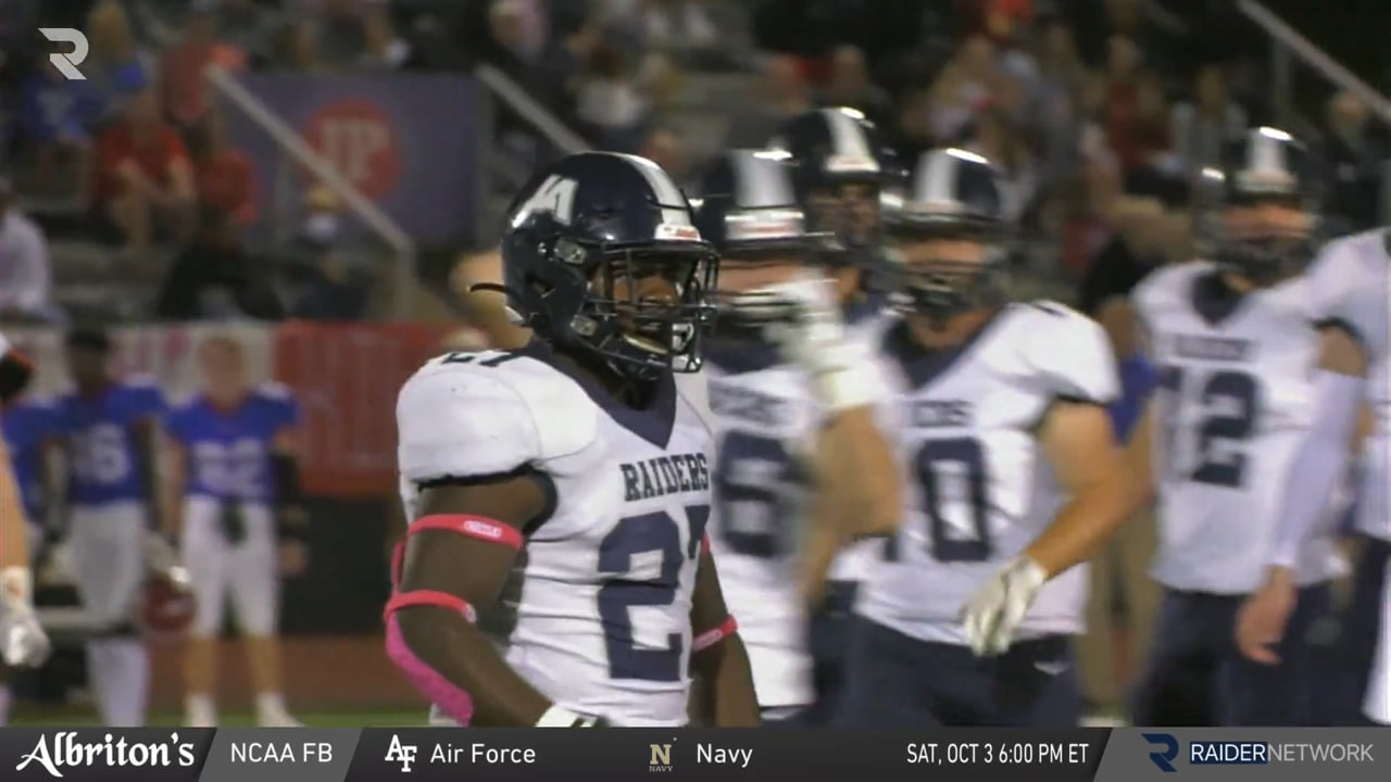 Varsity Football-2020-Game 7-Jackson Prep