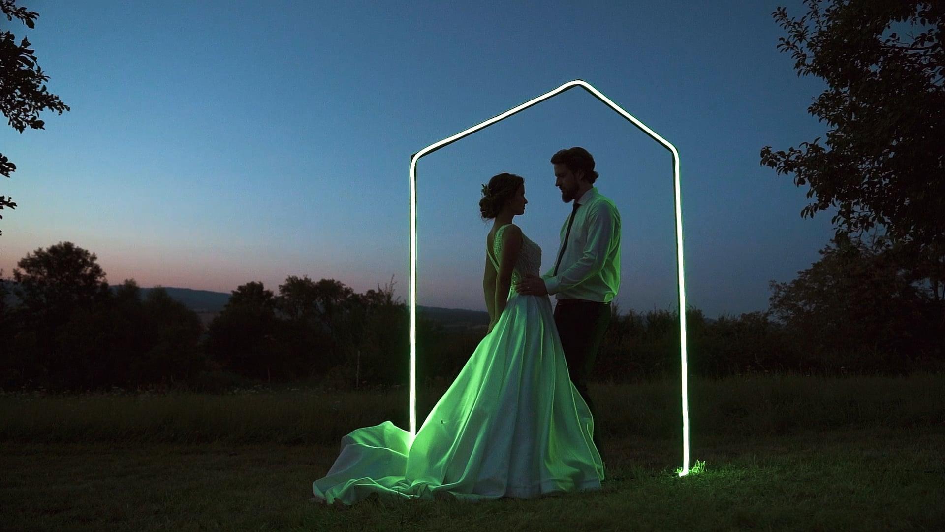 Svatební den: Vanda a Mirek / Stodola, Lípa u Zlína