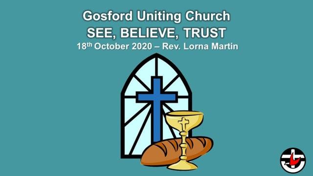 18th October 2020 - Rev. Lorna Martin