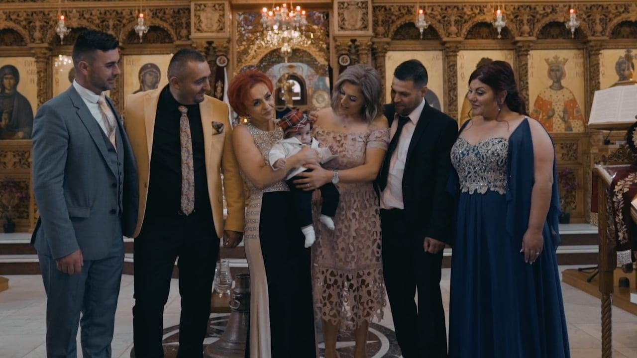 Ramona & Florin with little cute Sebastian - Matei_Highlights