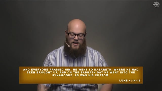 Going Public - Jesus Rejected at Nazareth