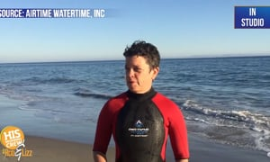 This wetsuit can help you overcome your fear of the water!