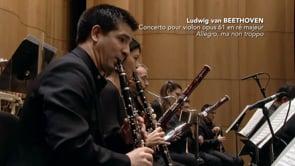 Lorenzo Gatto : Concerto pour Violon (Beethoven)
