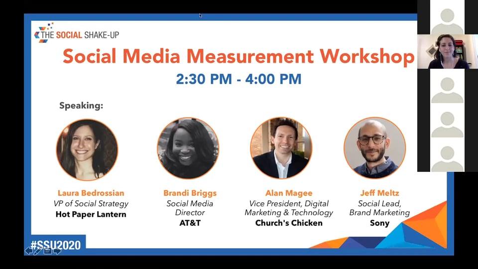 Social Media Measurement Workshop