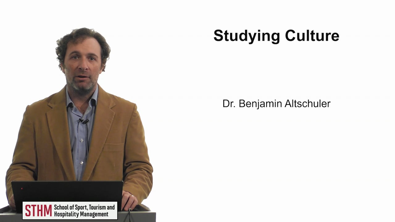 61898Studying Culture