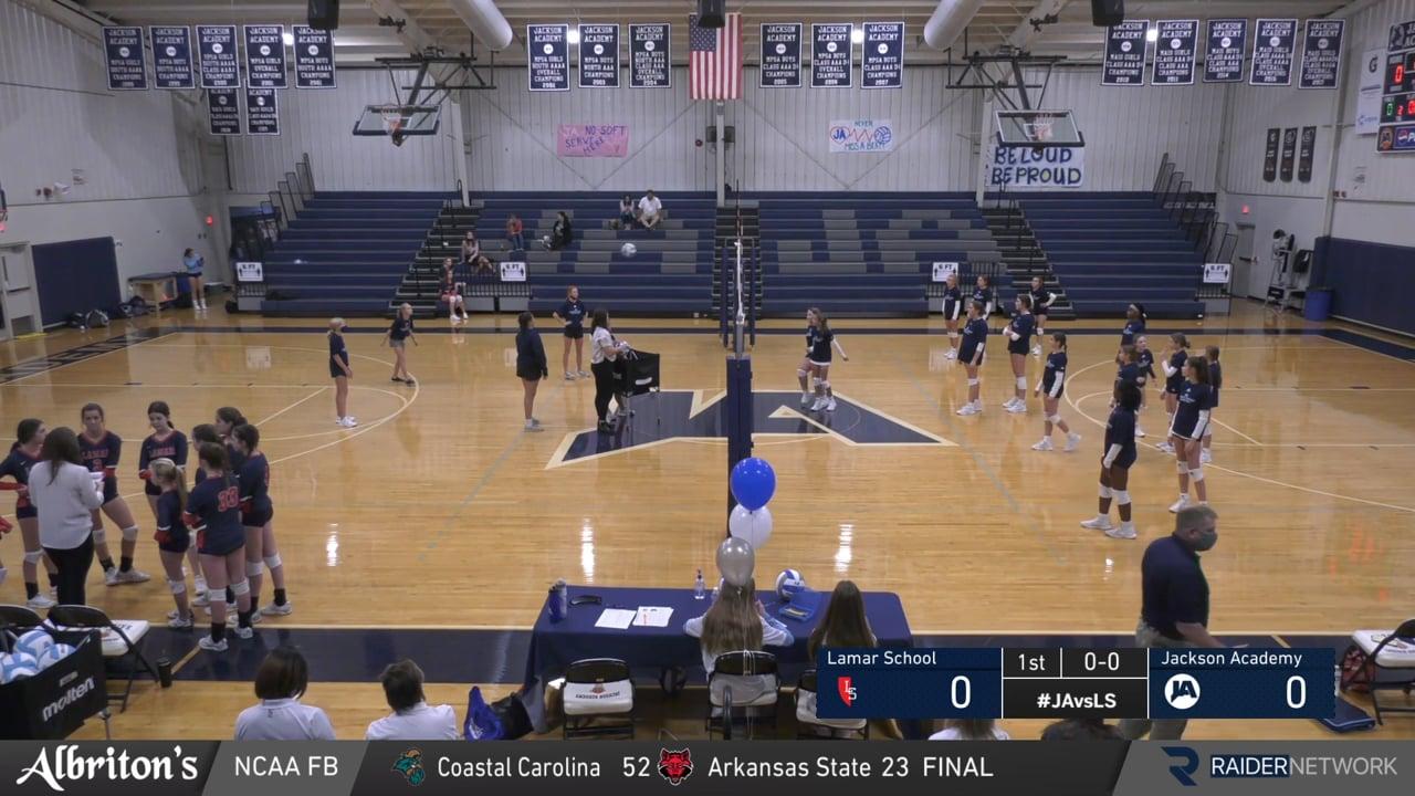 Middle School A Volleyball vs Lamar School - 10-05-20