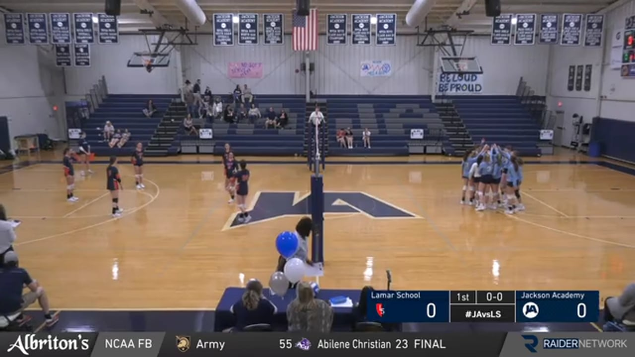 JV Volleyball vs Lamar School - 10-05-20