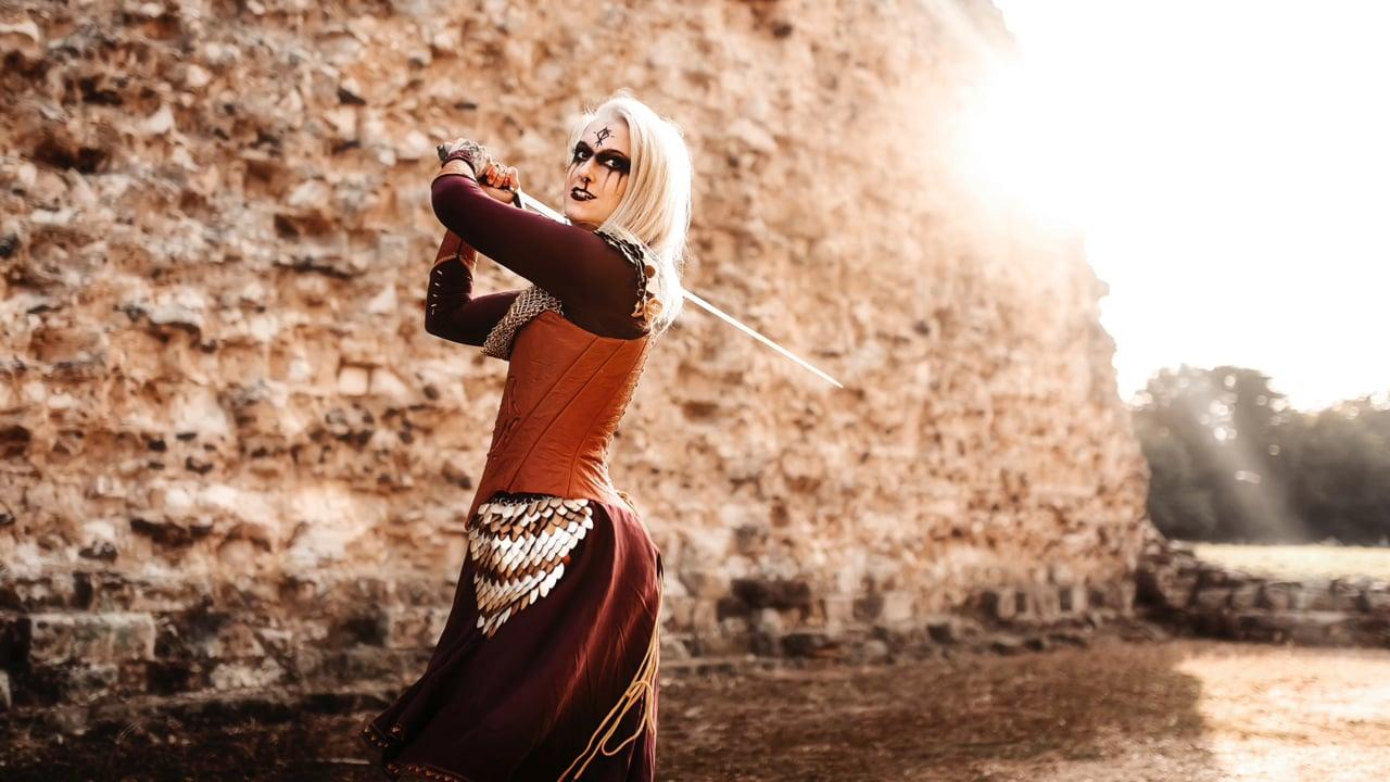 Anne Thomson - Medieval Photoshoot