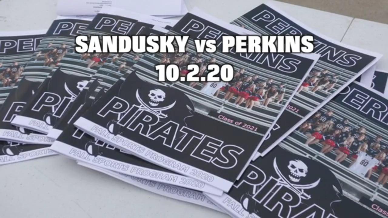 Week 6  FB 2020 Sandusky at Perkins