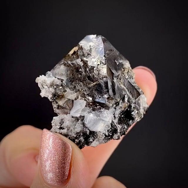 Scheelite with Calcite