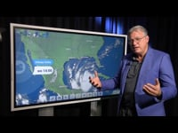 Orkaan Delta passeert Yucatan en is op weg naar de VS