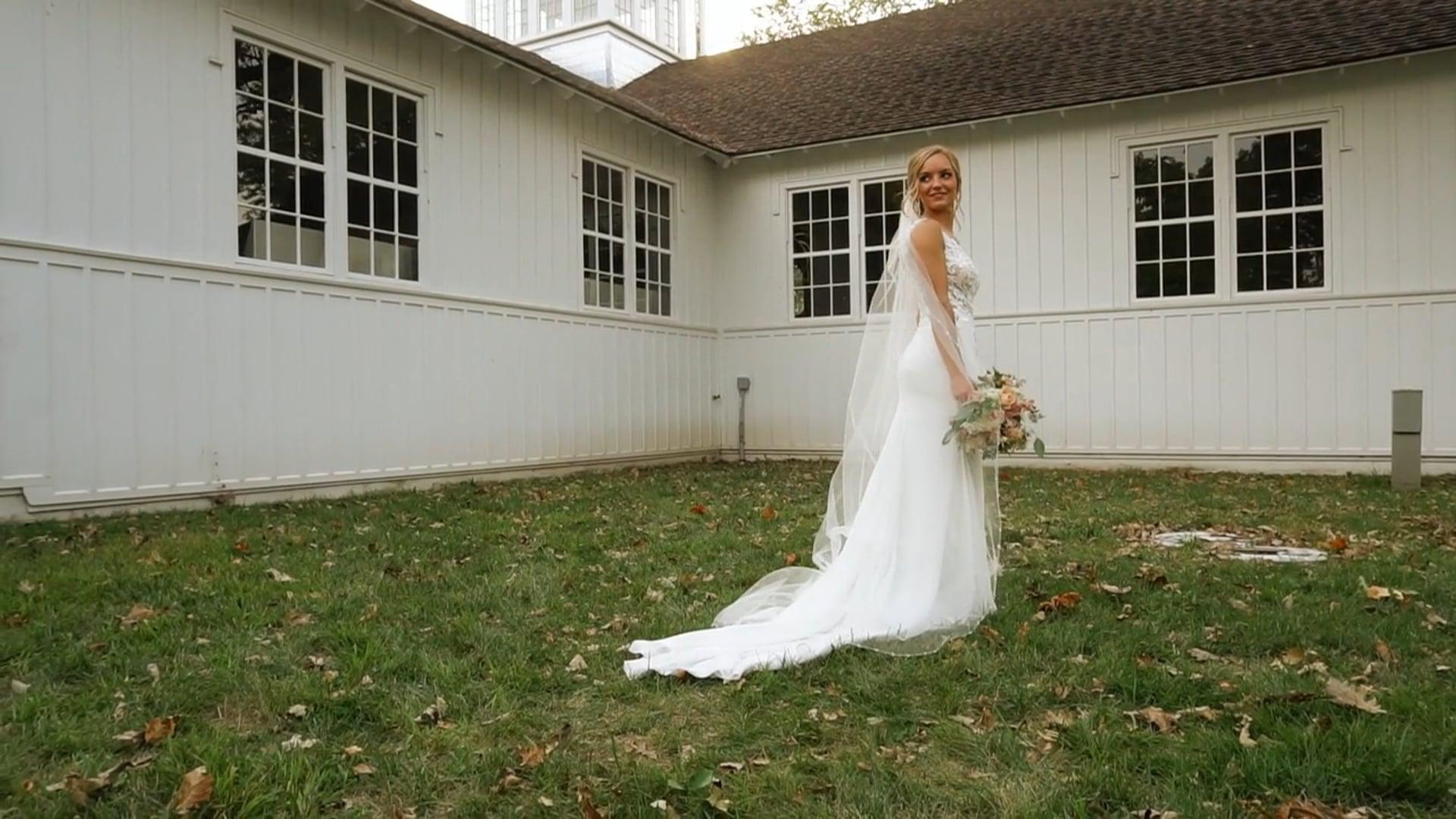 Madi & Logan   IA State Fairgrounds Wedding