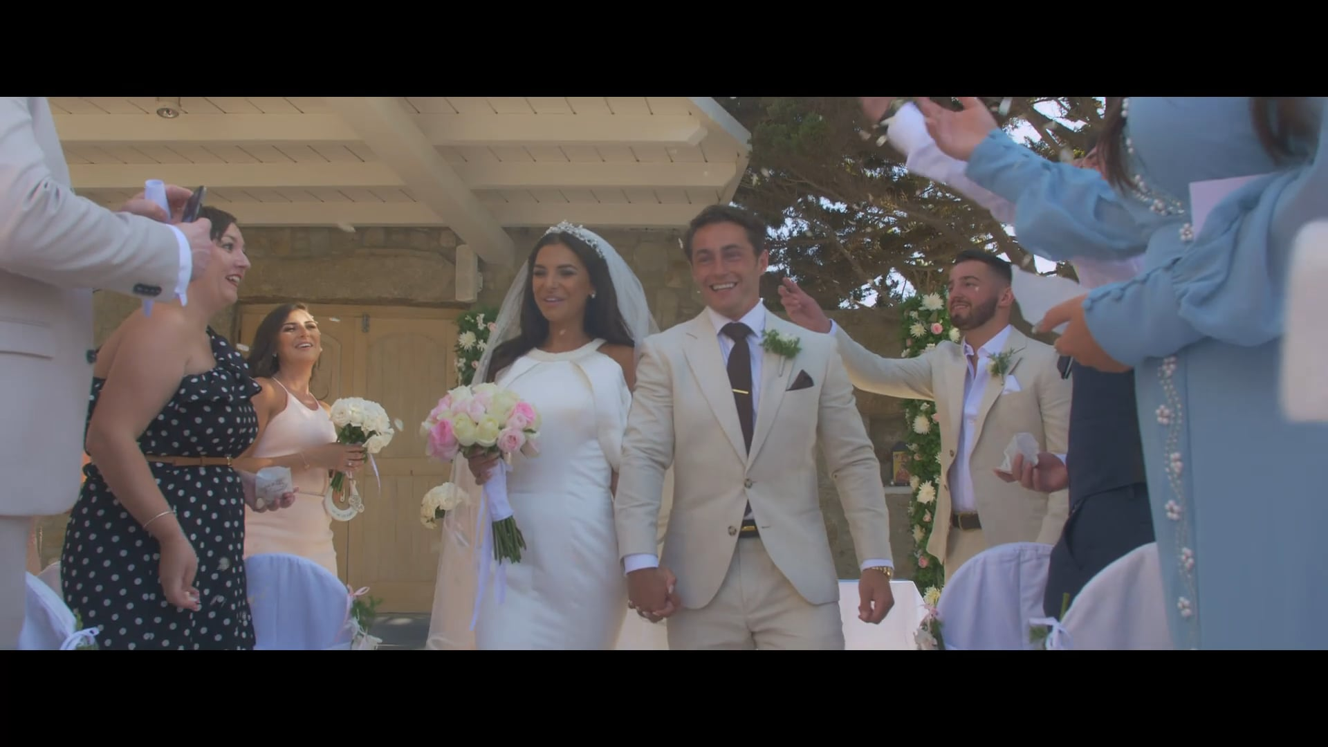 Lara & Ryan_wedding in Mykonos_short film
