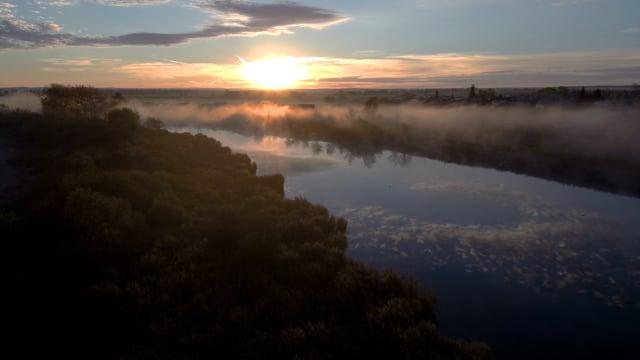 Shikhans in the Morning Mist - Short Relax Video