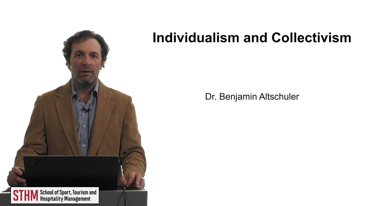 61908Individualism and Collectivism