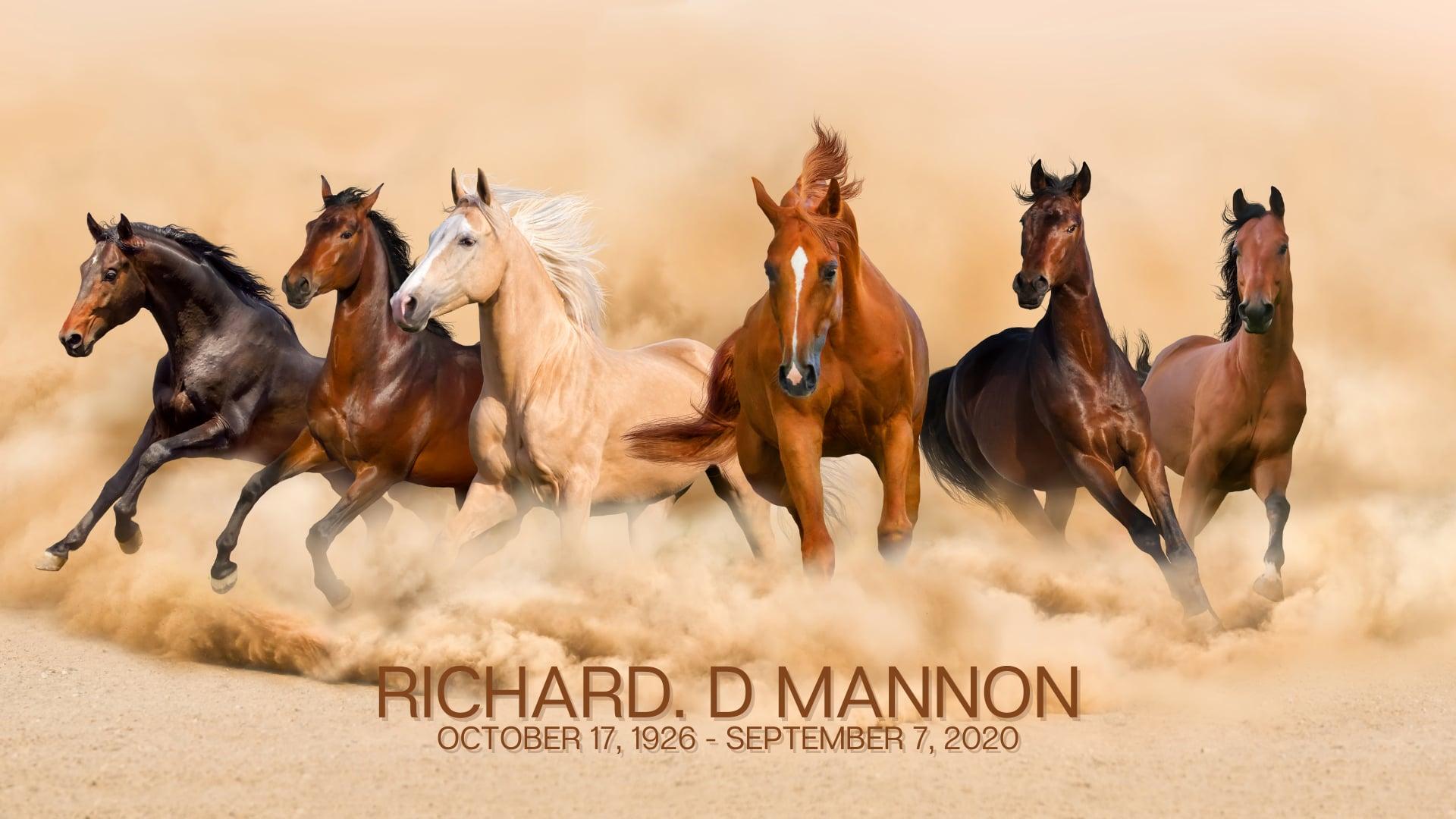 Richard Mannon Service 9-12