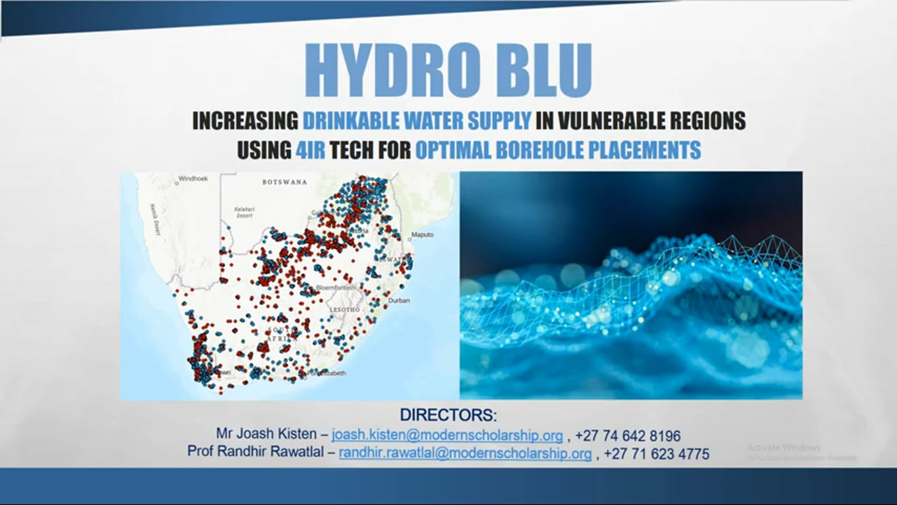 Water Research Commission uses Machine Learning for water drill sites