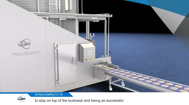 Why was the NEW Frigoscandia GYRoCOMPACT® 70 Spiral Freezer developed?