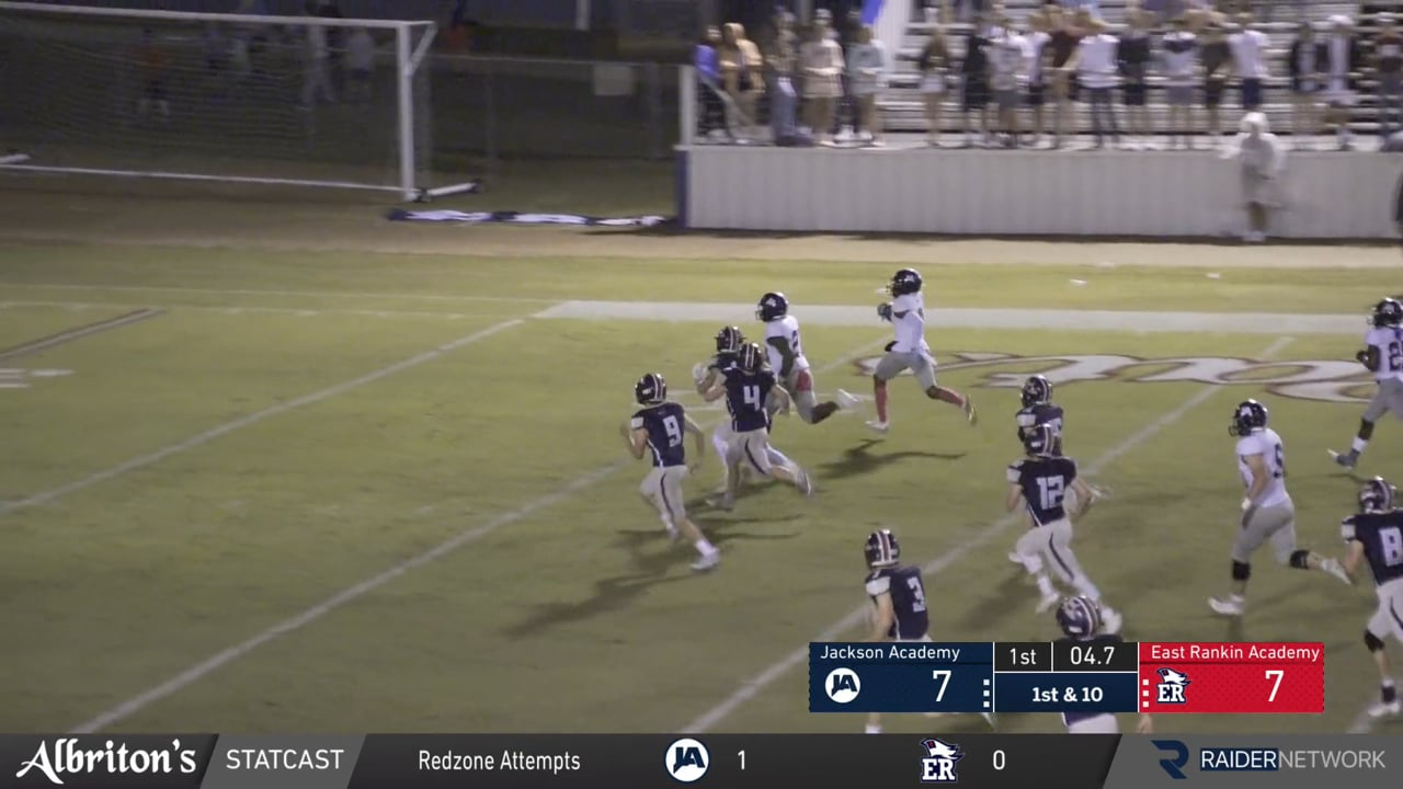 Varsity Football-2020-Game 8-East Rankin