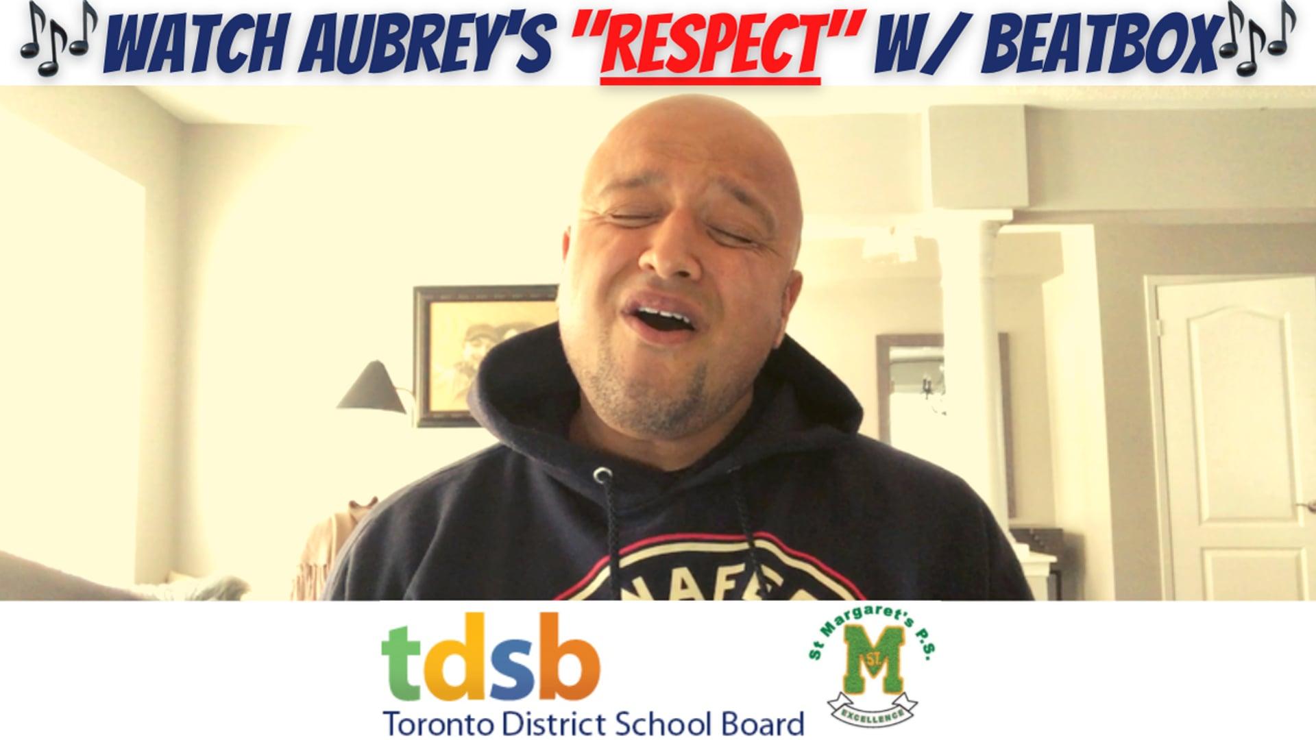 """""""RESPECT"""" w/ Beatbox"""