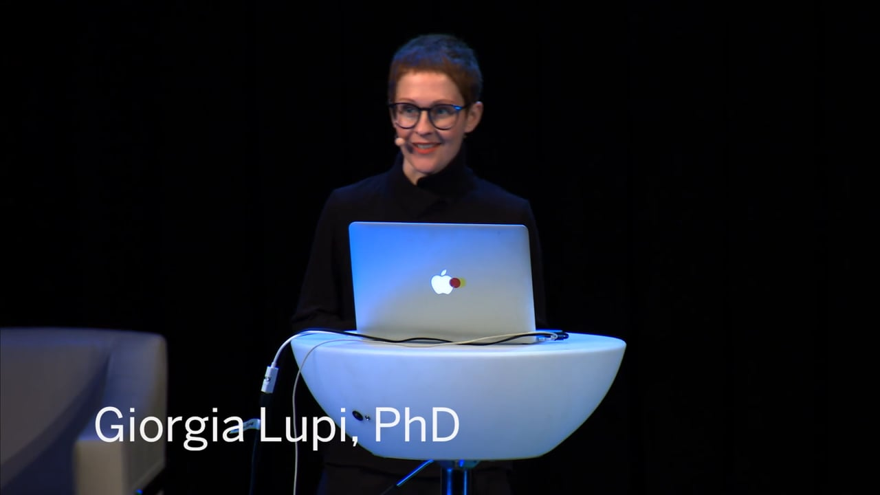 Bruises–The Data We Don't See | Kaki King & Giorgia Lupi, PhD | STIR 2018