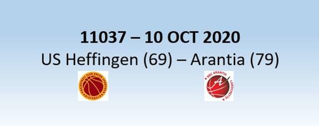 N1H 11037 US Heffingen (69) - Arantia Larochette (79) 10/10/2020