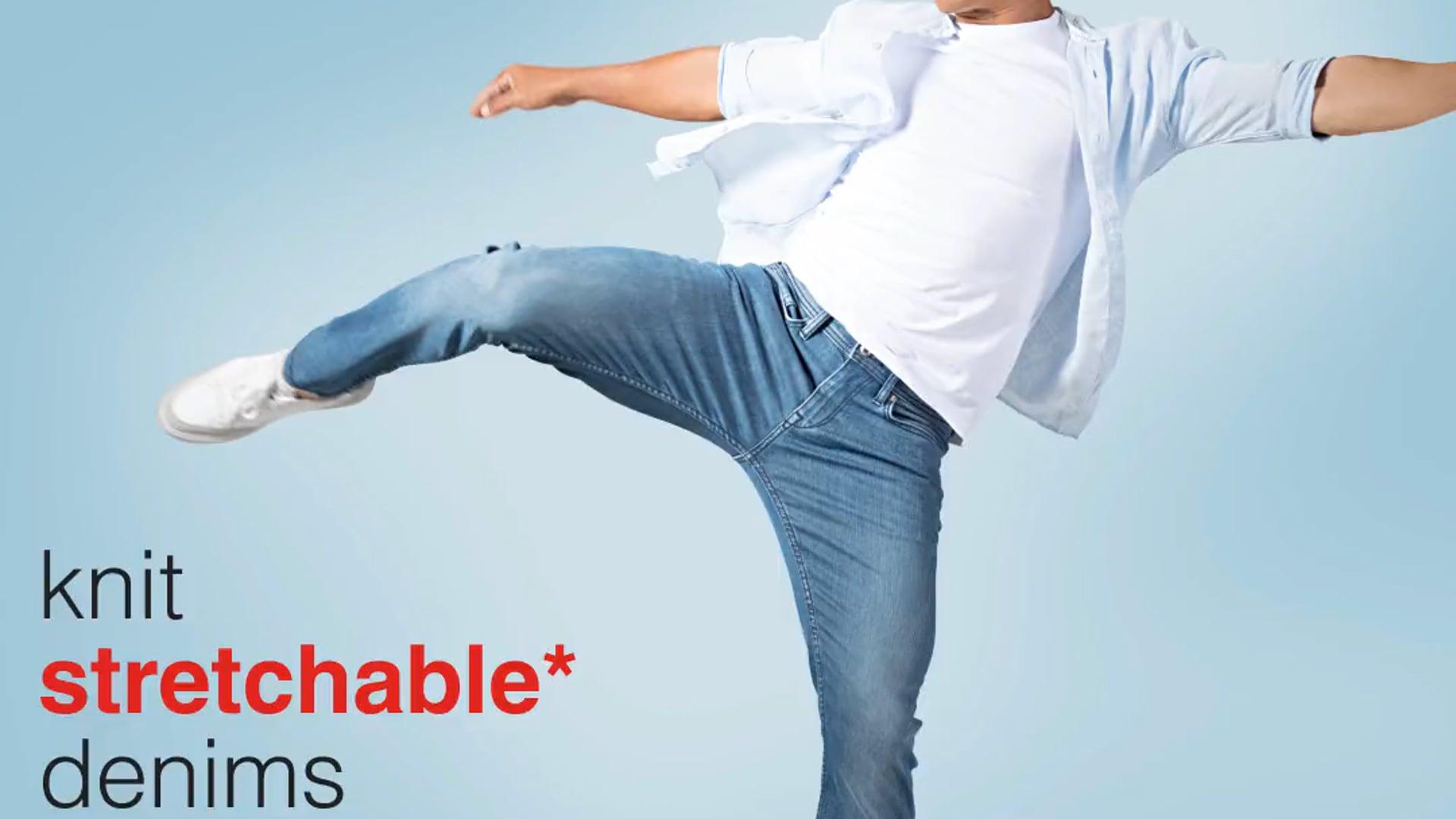 Celio x Sunil chhetri Knit stretchable Denims V4