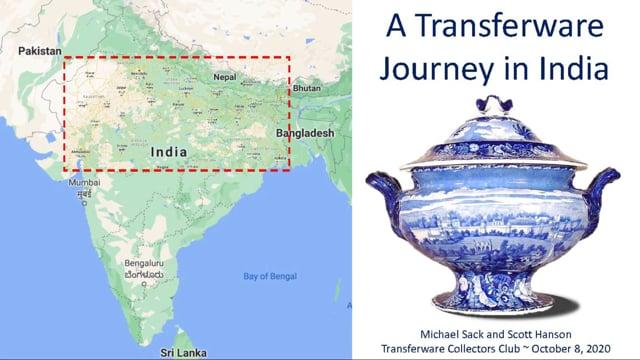 A Transferware Journey in India