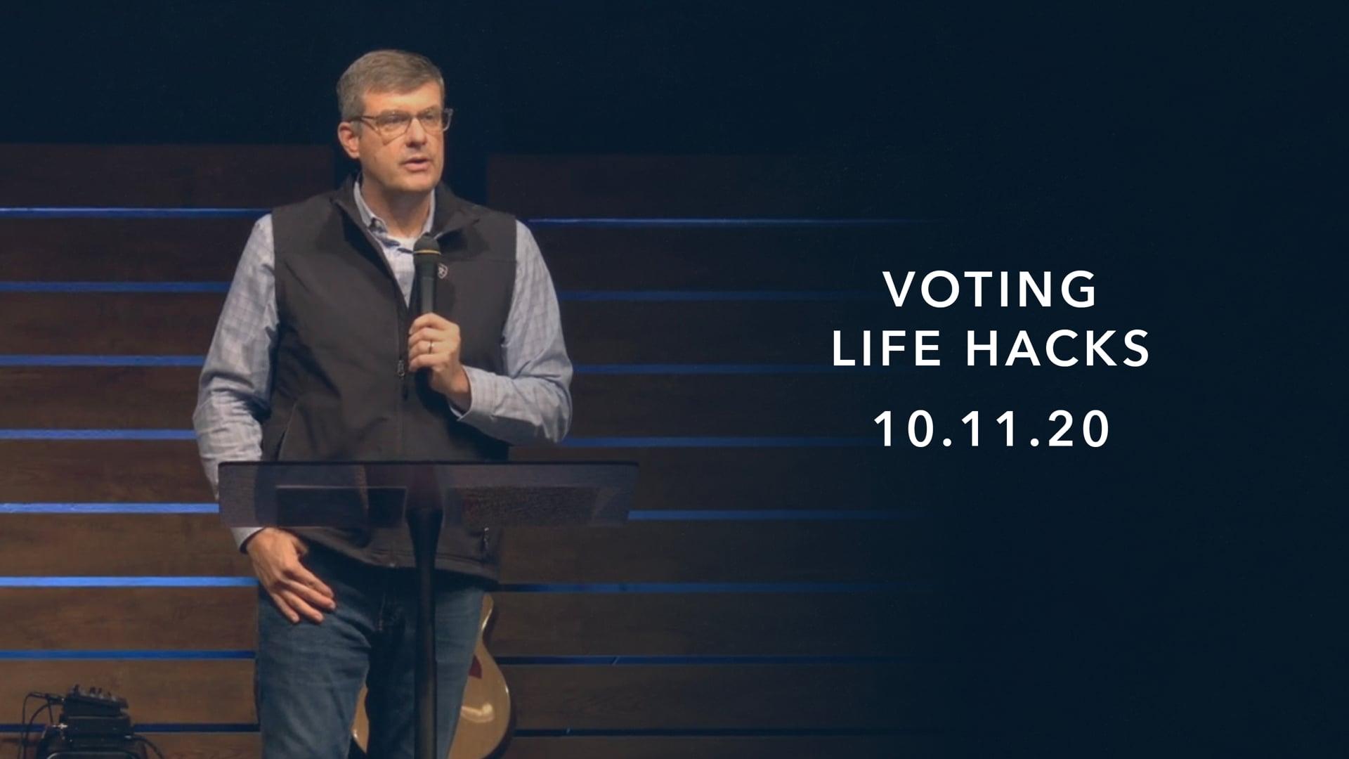 Spiritual Life Hacks: Voting Hacks