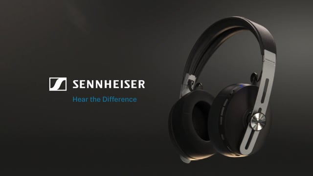 MOMENTUM 3 Wireless Headphones (Black) video thumbnail