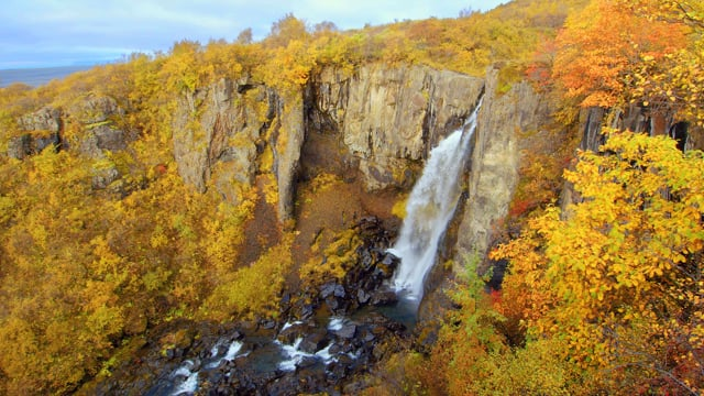 Breathtaking Waterfalls of Island. Part 2 - 4K HDR