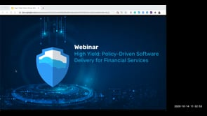 High Yield: Policy-Driven Software Delivery for Financial Services