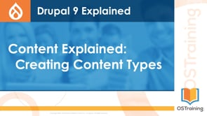 Creating Content Types