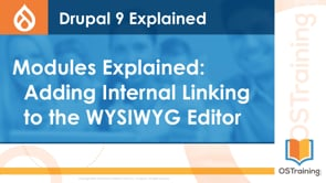 Adding Internal Linking to the WYSIWYG Editor