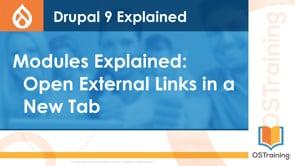 Open External Links in a New Tab or Window