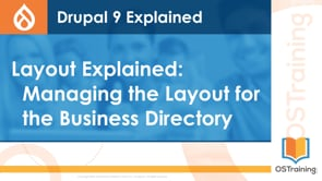 Managing the Layout for the Business Directory