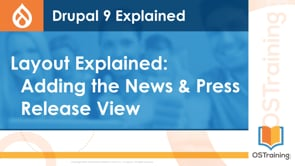 Adding the News & Press Release View