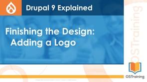 Finishing the Design: Adding the Logo