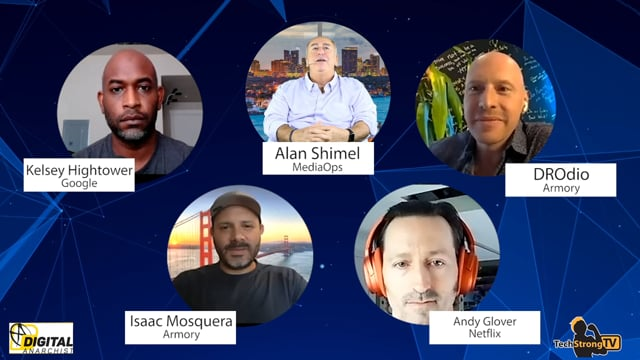 Kelsey Hightower, Andy Glover, Isaac Mosquera and DROdio - TechStrong TV