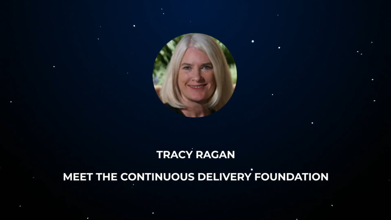 Tracy Ragan – Meet the Continuous Delivery Foundation