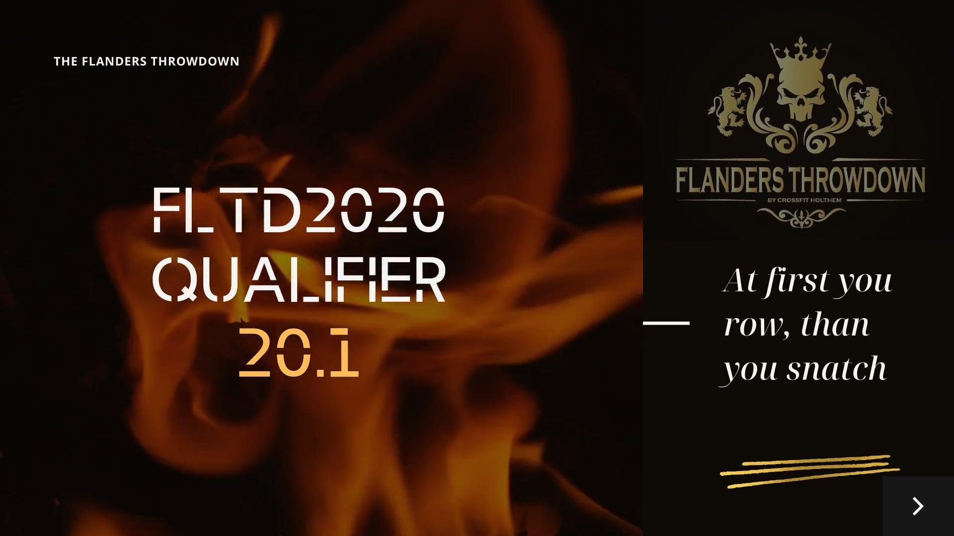 FLTD2020 QUALIFIER 20.1