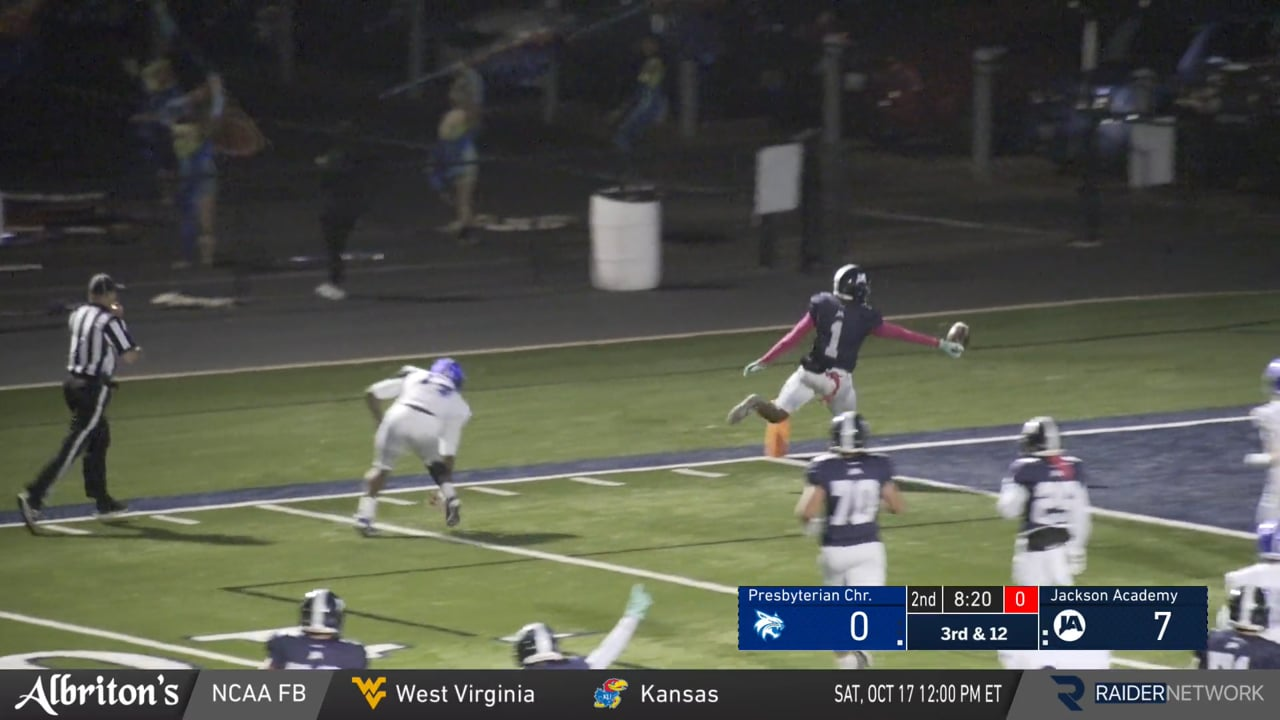 Varsity Football-2020-Game 9-Presbyterian Christian