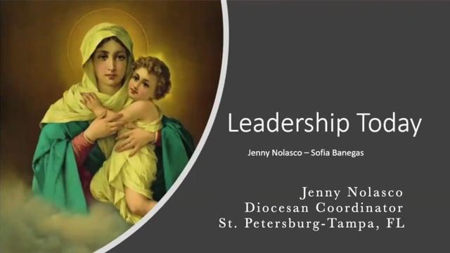 Jenny Nolasco - Leadership