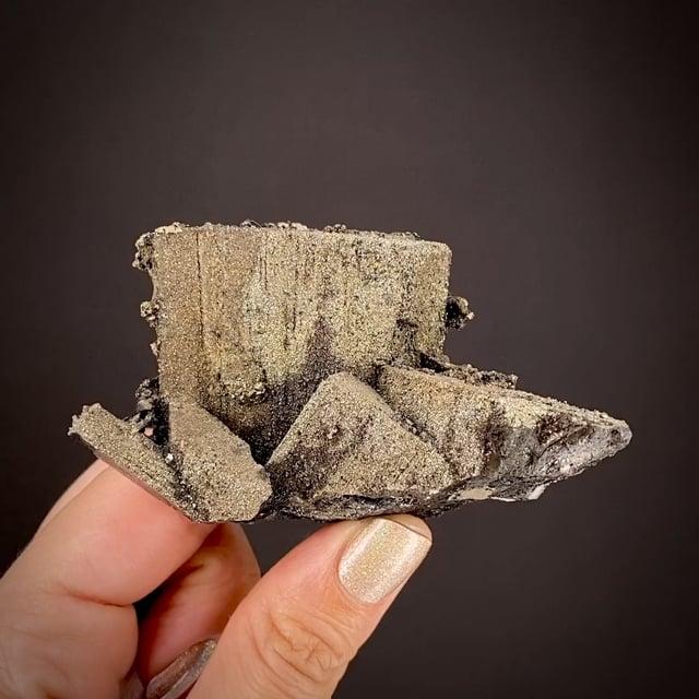 Enargite coated by Pyrite